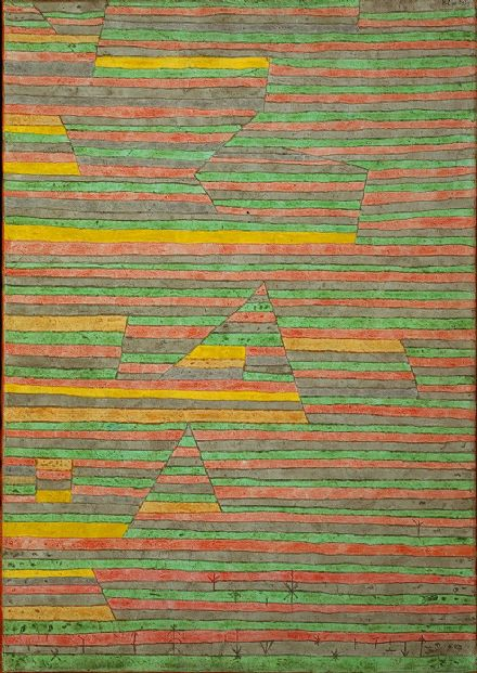 Klee, Paul: Monuments at G. Fine Art Print/Poster (5020)